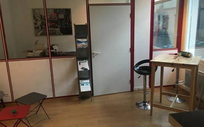 Open Space  1  poste Location bureau Paris 75014