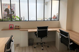 1 750 € par mois, 5 postes , Paris, Bureau privatif 5-6 postes