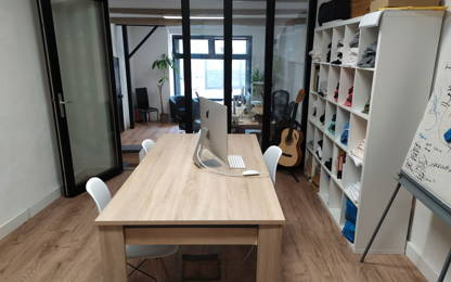 Open Space  2  postes Location bureau Montpellier 34000