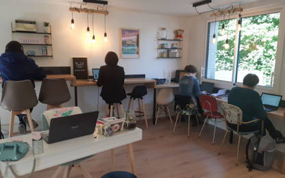 Open Space  8  postes Coworking Rennes 35200