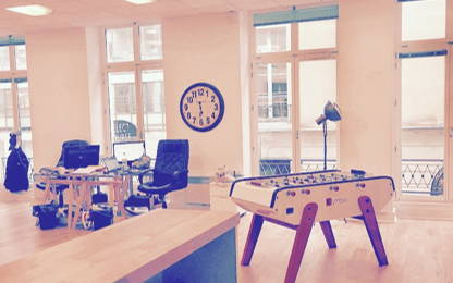 Open Space  4  postes Location bureau Paris 75002