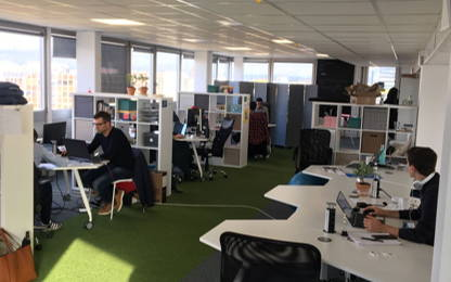 Open Space  10  postes Location bureau Toulouse 31000