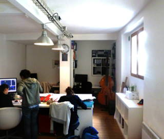 Open Space  1 poste Coworking Rue Ramponeau Paris 75020