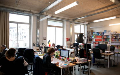 Open Space  10  postes Coworking Paris 75011