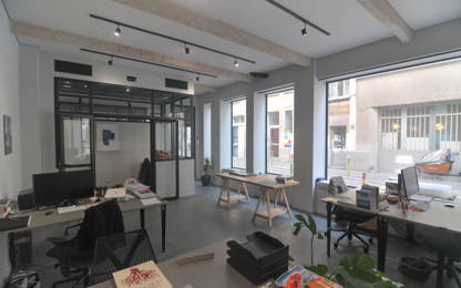 Open Space  4  postes Location bureau Paris 75011