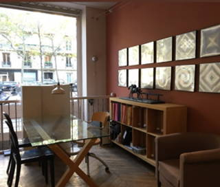 Open Space  1 poste Coworking Avenue Bosquet Paris 75007
