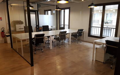 Open Space  10  postes Coworking Paris 75017