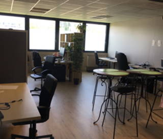 Open Space  6 postes Coworking Rue Jean Bart Labège 31670