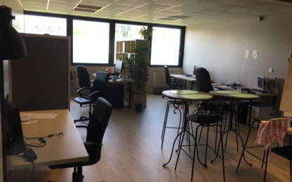 Open Space  6  postes Location bureau Labège 31670