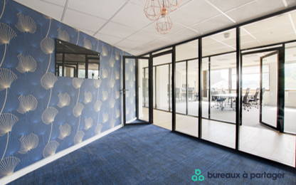 Open Space  26  postes Coworking Saint-Cloud 92210