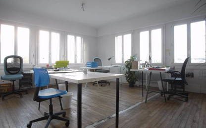 Open Space  1  poste Location bureau Nantes 44000