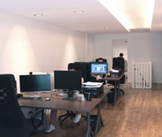 Open Space  1 poste Coworking Rue Montgolfier Paris 75003