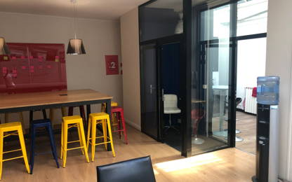 Open Space  1  poste Location bureau Paris 75012