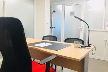 Bureau de passage en centre d'affaires