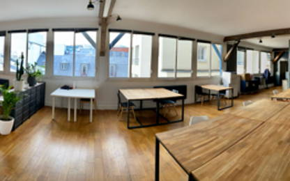 Open Space  5  postes Location bureau Paris 75012