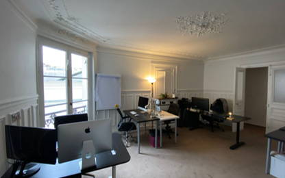 Open Space  6  postes Location bureau Paris 75001