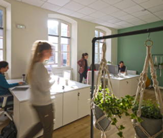 Open Space  9 postes Coworking Rue Percheronne Chartres 28000