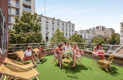 350 € par mois, 25 postes , Paris, Poste en open space fixe