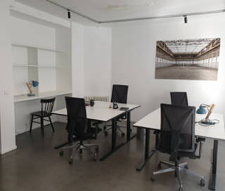 Open Space  2 postes Coworking Rue Marie et Pierre Curie Clichy 92110