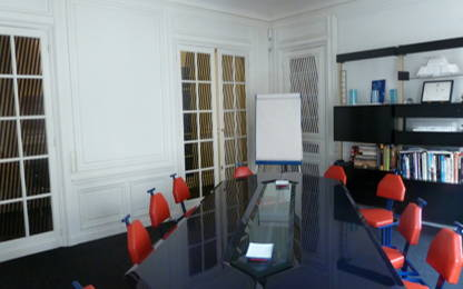 Bureau fermé 12 m² 2 postes Location bureau Avenue Victor Hugo Paris 75016
