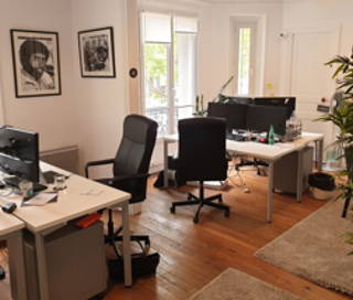 Bureau fermé 25 m² 6 postes Location bureau Avenue du Maine Paris 75014