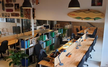 Open Space  16  postes Coworking Anglet 64600