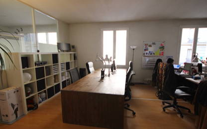 Open Space  4  postes Location bureau Clichy 92110