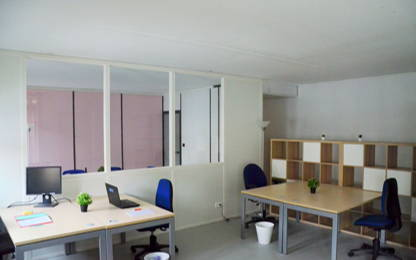 Open Space  4  postes Location bureau Villeurbanne 69100