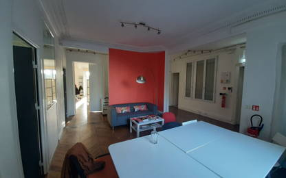 Open Space  2  postes Location bureau Paris 75002