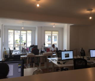 Open Space  4 postes Coworking Rue Beaubourg Paris 75003