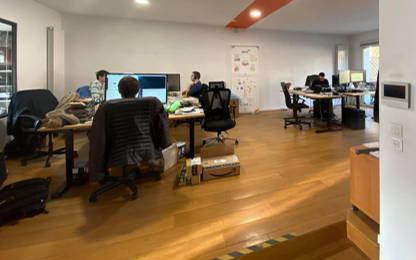 Open Space  2  postes Coworking La Madeleine 59110