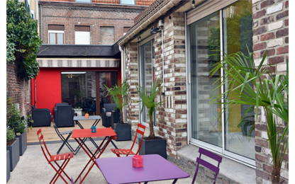 Open Space  6  postes Coworking Lille 59000