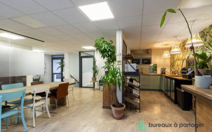 Open Space  22  postes Coworking Paris 75017