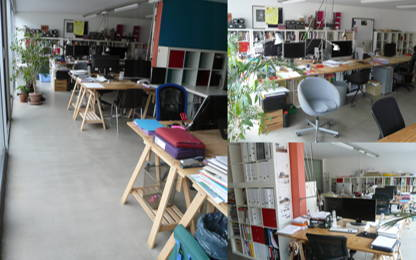 Open Space  4  postes Location bureau Nantes 44000