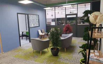 Open Space  6  postes Location bureau Valenciennes 59300