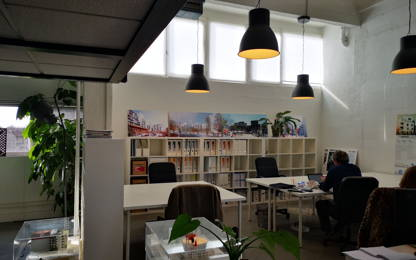 Open Space  3  postes Location bureau Montreuil 93100
