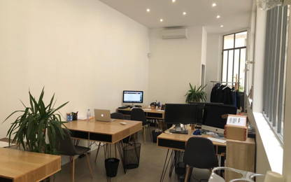 Open Space  1  poste Coworking Paris 75003