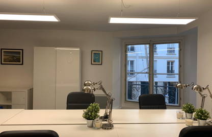 300 € par mois, 5 postes , Paris, Open Space - 5 places individuelles