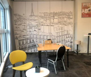 Open Space  4 postes Coworking Avenue du Professeur André Lemierre Paris 75020