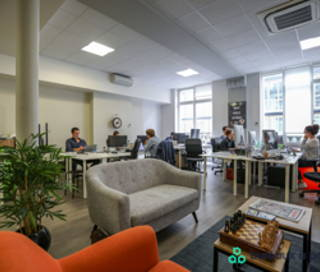 Open Space  5 postes Coworking Rue du Sentier Paris 75002