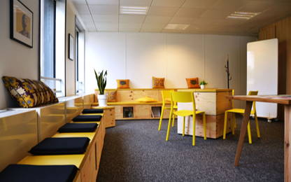 Open Space  2  postes Location bureau Paris 75016