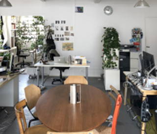 Open Space  7 postes Coworking Rue Rebeval Paris 75019