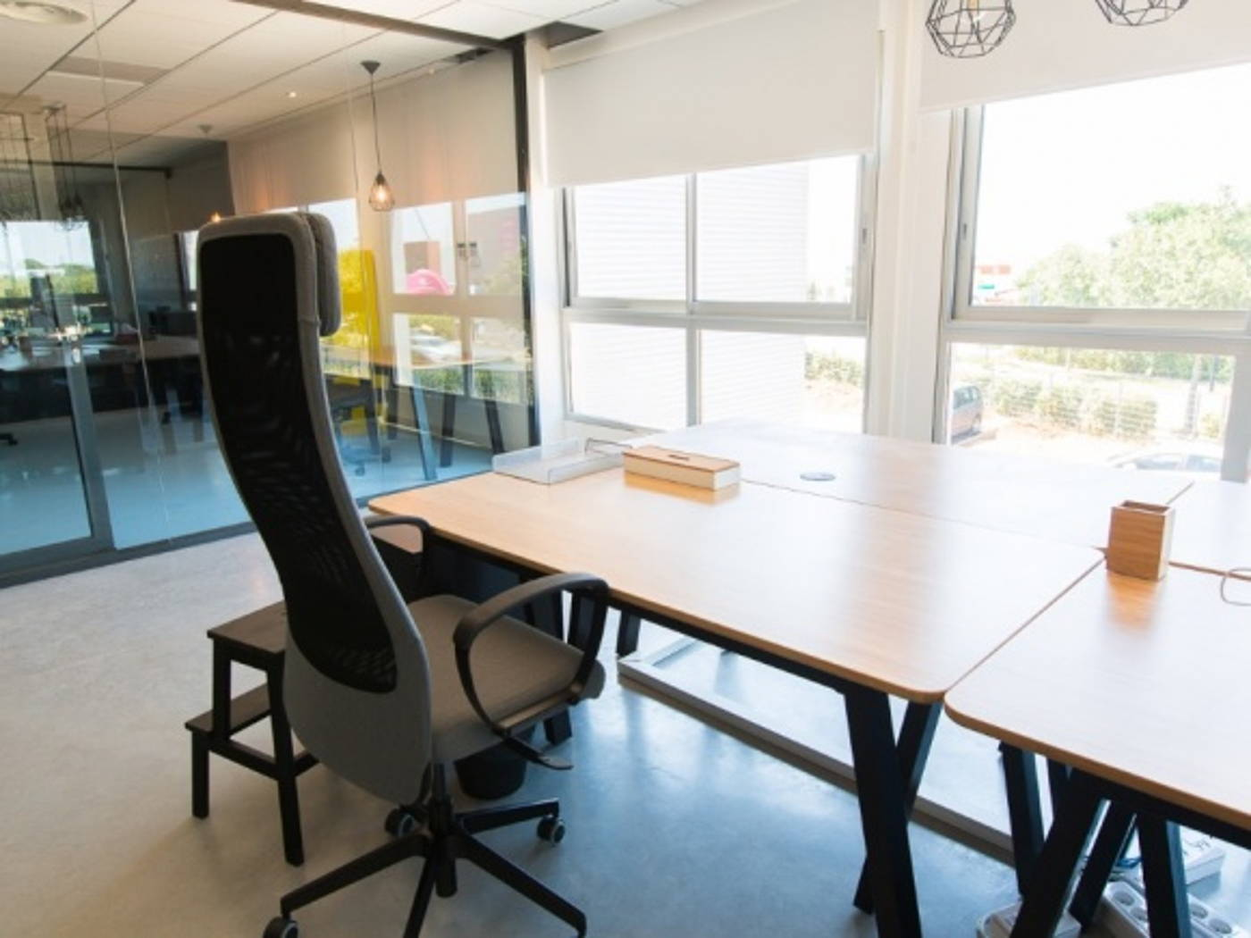 Location bureau montpellier bureau dans open space