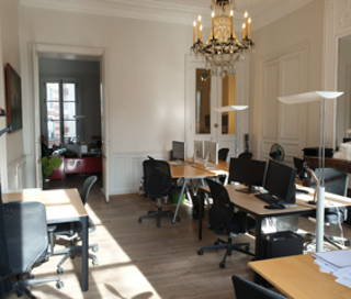 Open Space  2 postes Location bureau Rue René Boulanger Paris 75010