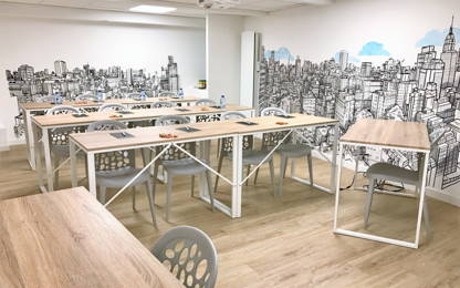 Open Space  4  postes Coworking Rennes 35000