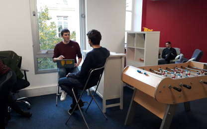 Open Space  10  postes Location bureau Paris 75002