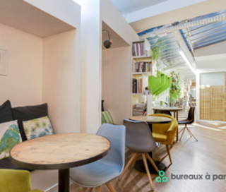 Open Space  20 postes Coworking Rue Greneta Paris 75002