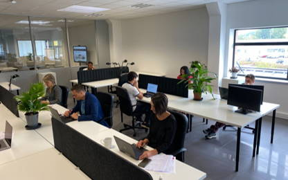 Open Space  5  postes Coworking Bourgoin-Jallieu 38300