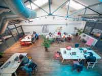 Coworking nomade aux buttes chaumont