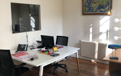 Open Space  3  postes Location bureau Paris 75011